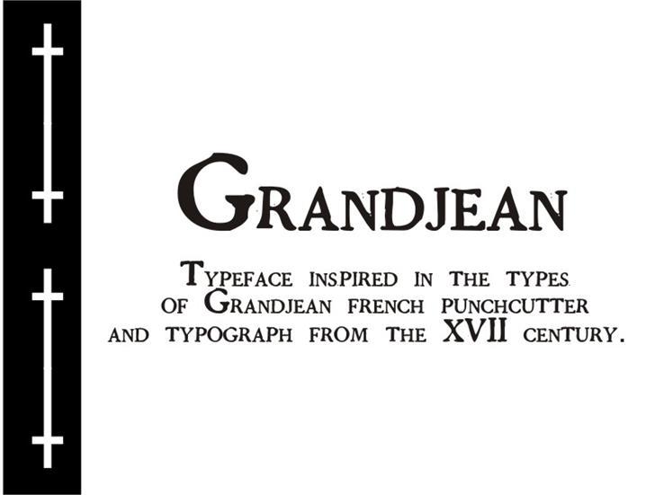 GrandjeanPW font by Intellecta Design
