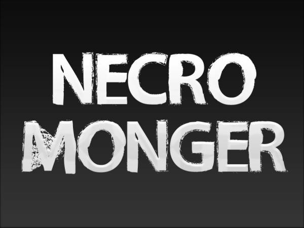 Necro Monger font by Chris Vile