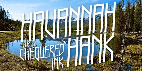 Havannah Hank font by Chequered Ink
