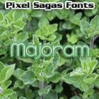 Majoram font by Pixel Sagas