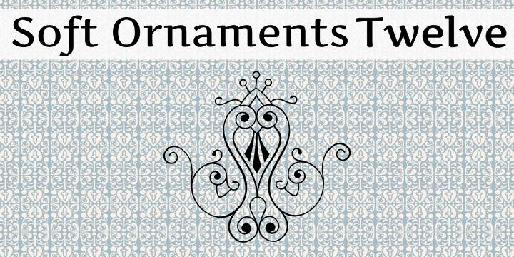 Soft Ornaments Twelve font by Intellecta Design