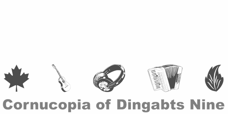 Cornucopia of Dingbats Nine font by Intellecta Design