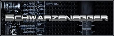 Schwarzenegger font by Pixel Sagas