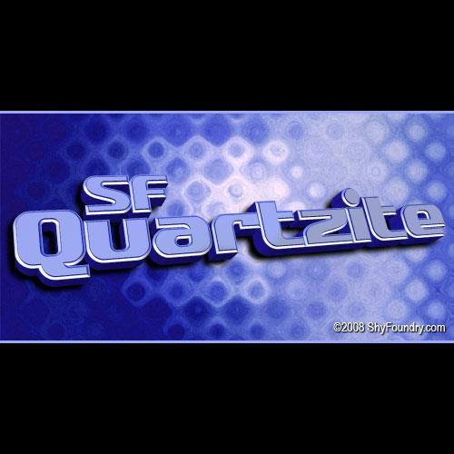 SF Quartzite font by ShyFoundry