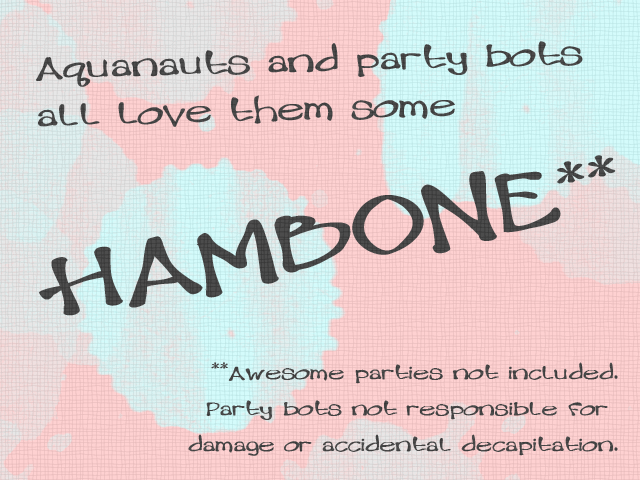 Hambone font by BessAsher Rebel