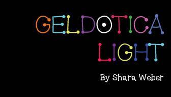 GelDoticaLight font by Shara Weber