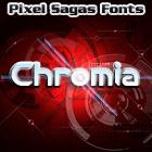 Chromia font by Pixel Sagas