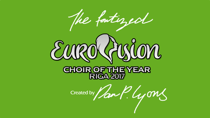 Eurovision Choir 2017 font by 538Fonts