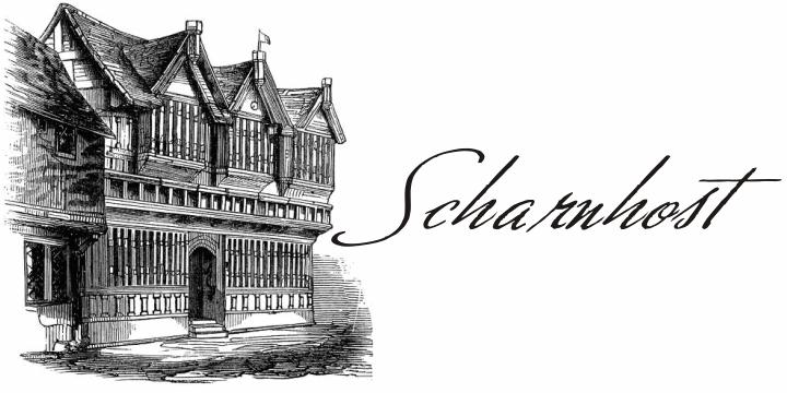 Scharnhorst font by Intellecta Design
