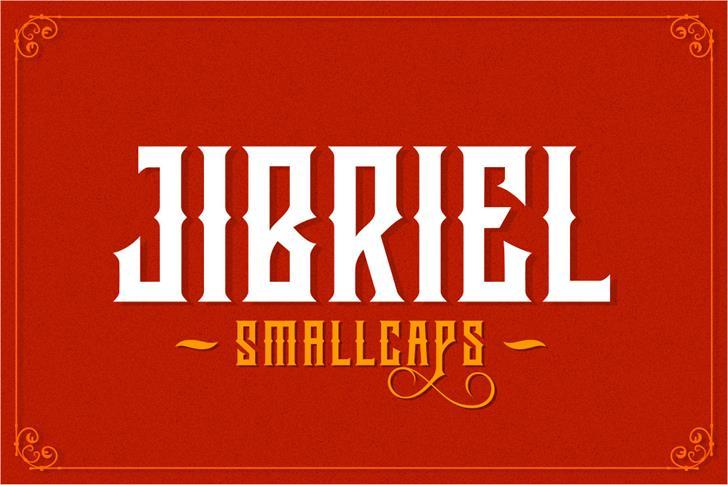 Jibriel Small Caps font by Mikrojihad Font