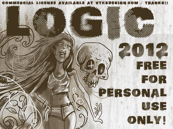 vtks logic font by VTKS DESIGN