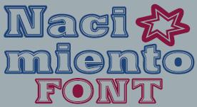 Nacimiento font by deFharo