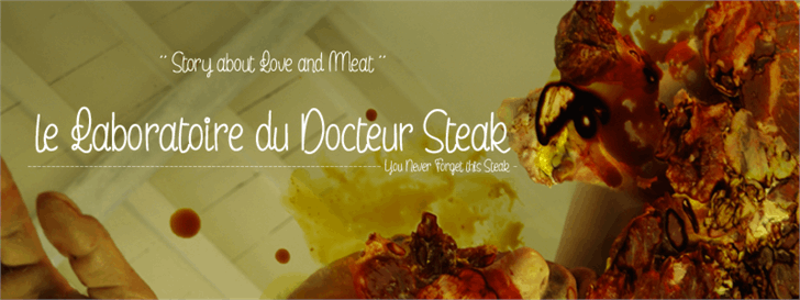 le Laboratoire du Docteur Steak font by Maellekeita