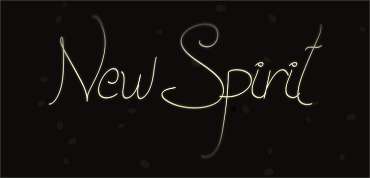 New Spirit font by Paulo R