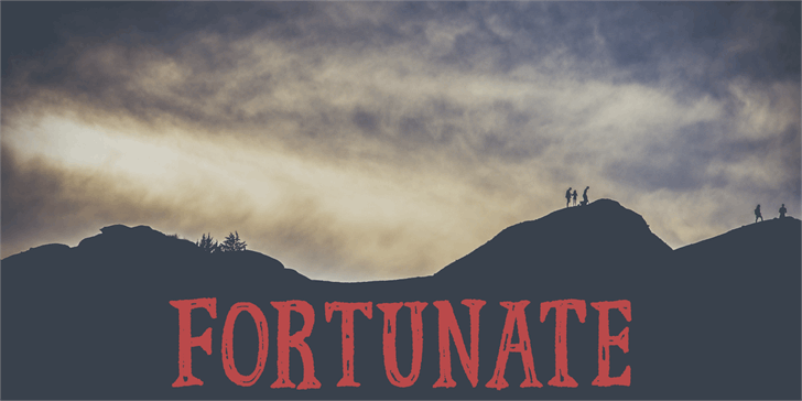 Fortunate DEMO font by pizzadude.dk