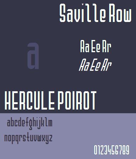 Saville Row NBP font by total FontGeek DTF, Ltd.