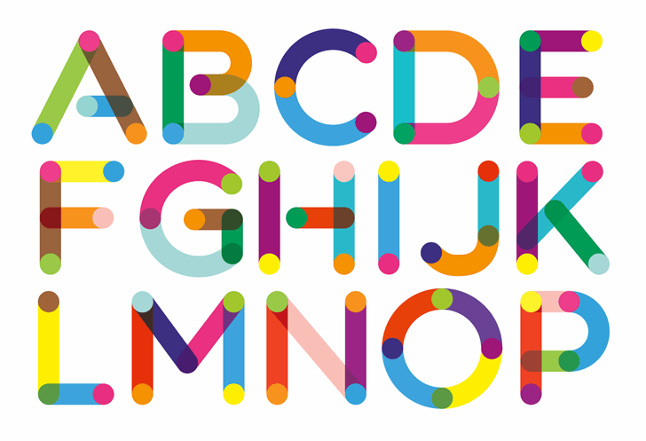 ColorTube font by Neogrey Creative