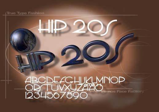 PP Hip20s font by Pelle Piano