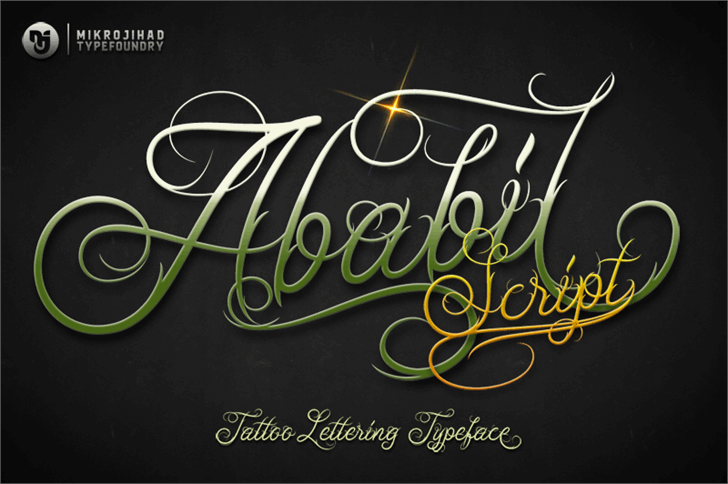 Unblessed Script font by Mikrojihad Font