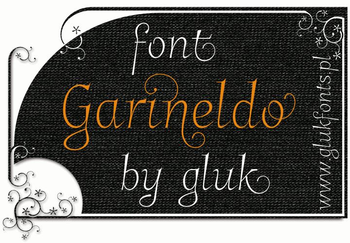 Garineldo font by gluk
