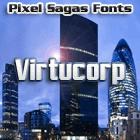 Virtucorp font by Pixel Sagas