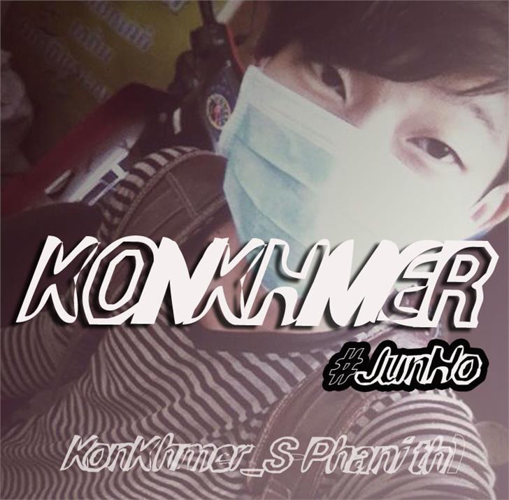 KonKhmer_S-Phanith1 font by Suonmay Sophanith