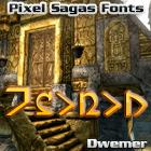 Dwemer font by Pixel Sagas