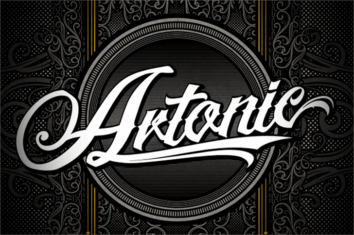 Artonic Personal Use Only font by seventhimperium