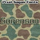 Sorenson font by Pixel Sagas