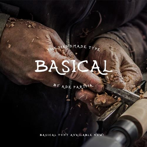 Basical font by AP Project