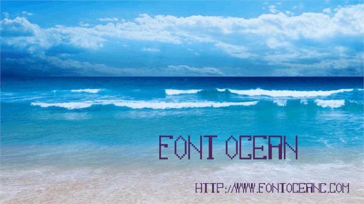 fontocean font by Font Ocean