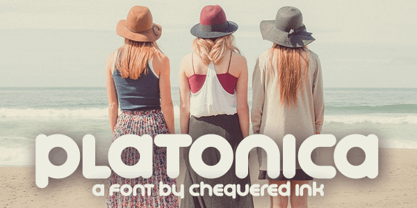 Platonica font by Chequered Ink