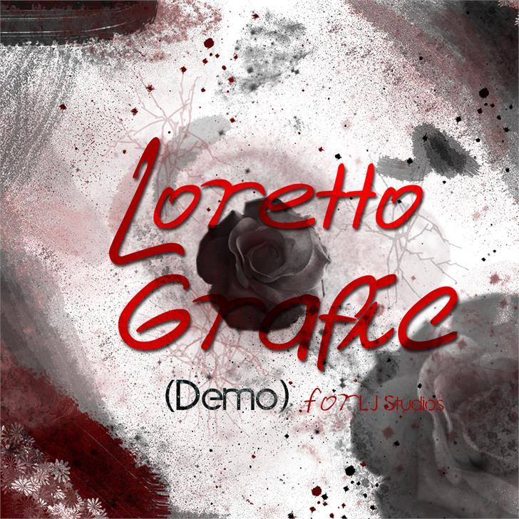 Loretto Grafic font by LJ Design Studios