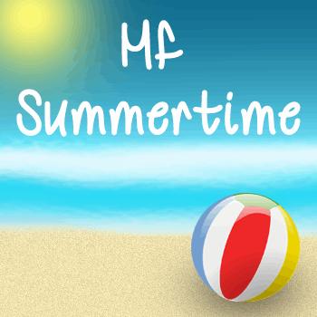 Mf Summertime font by Misti's Fonts