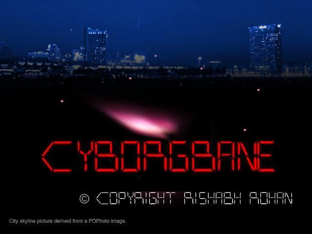 CYBORGBANE font by LordJimIII