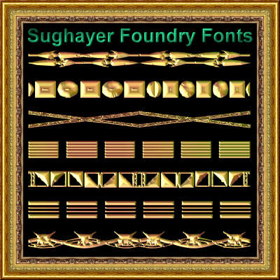 Vintage Borders_021 font by Sughayer Foundry