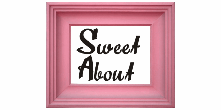 Sweet About font by Intellecta Design