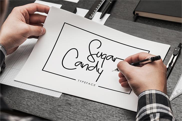 Sugar Candy font by madeDeduk
