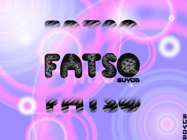 Fatso font by Suyog.Inc