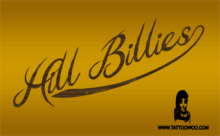 Hill Billies font by Jonathan S. Harris