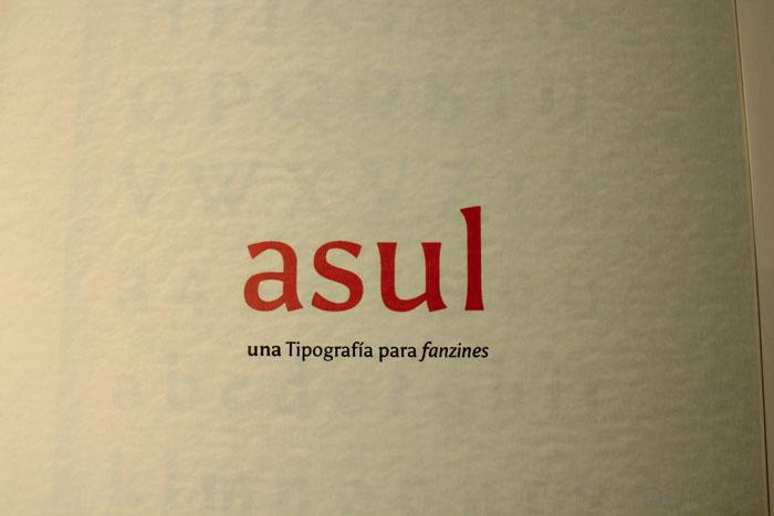 Asul font by soytutype