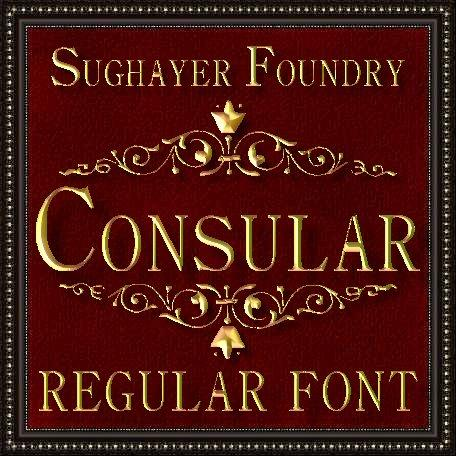 Consular font by Sughayer Foundry
