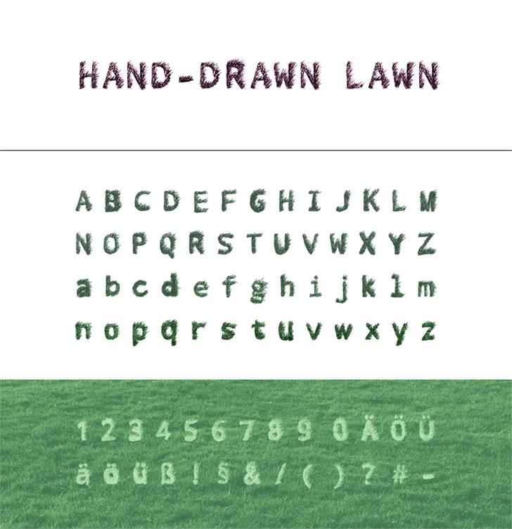 My Font by D.Frohwein