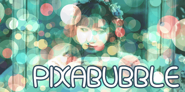 Pixabubble font by Chequered Ink
