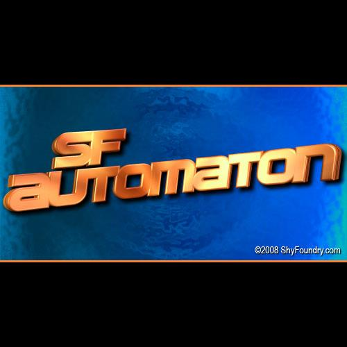 SF Automaton font by ShyFoundry