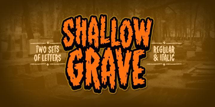 ShallowGrave BB font by Blambot