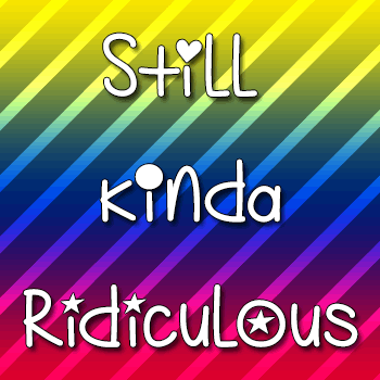 Mf Still Kinda Ridiculous font by Misti's Fonts