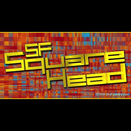 SF Square Head font by ShyFoundry