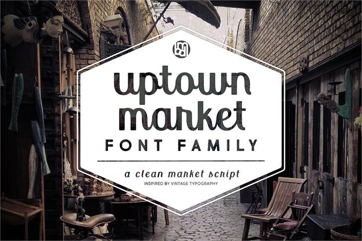 Uptown Market font by Brittney Murphy Design