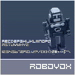 Robovox font by Splintered